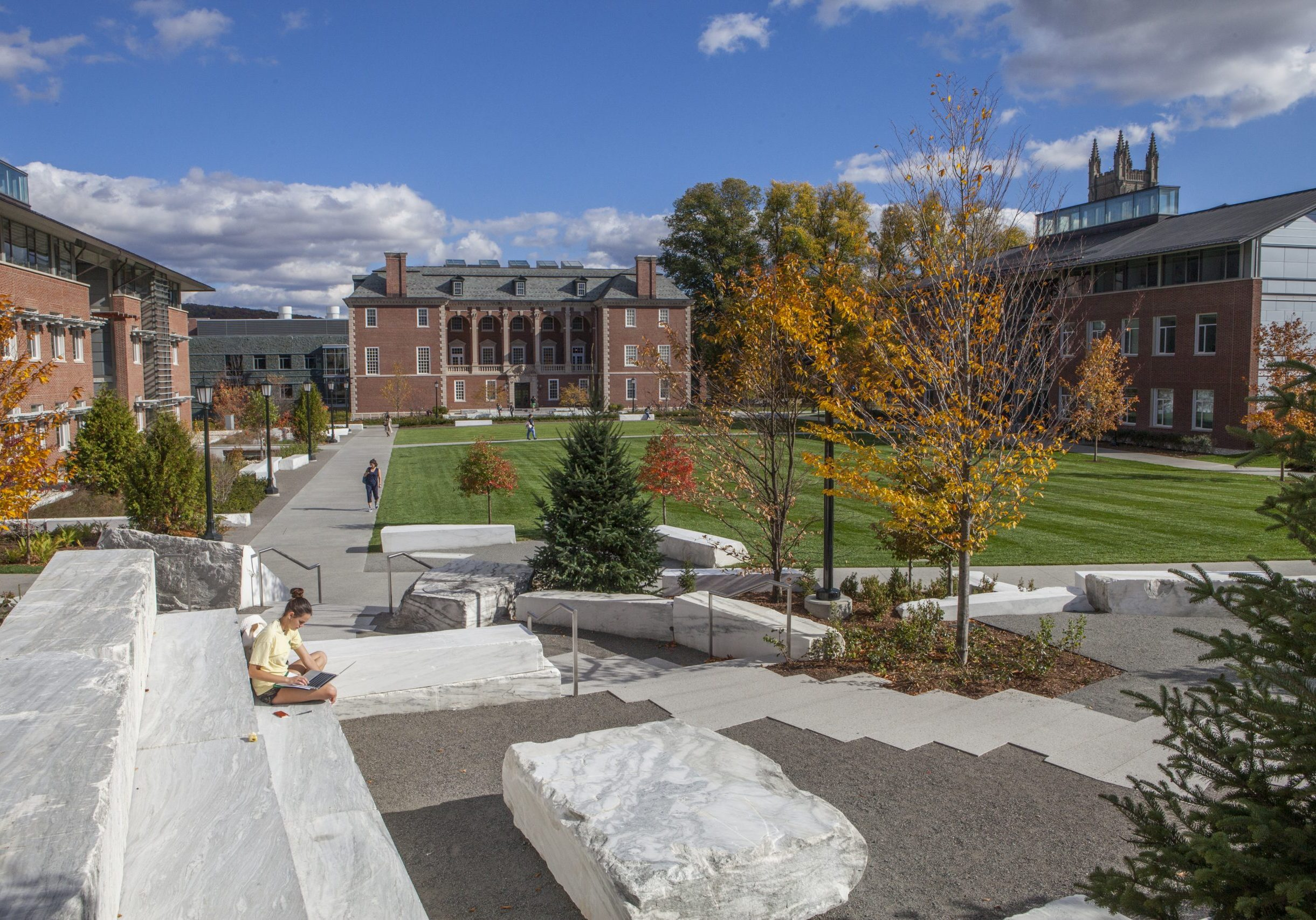 Campus photo in the fall